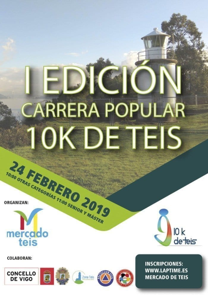 I Carrera Popular 10K de Teis