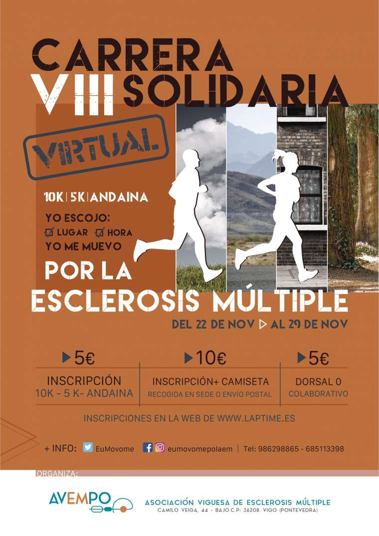 VIII Carrera Solidaria por la Esclerosis Múltiple – VIRTUAL